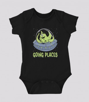 Going Places Onesie
