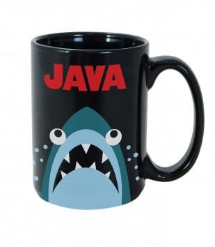 Java Shark Mug