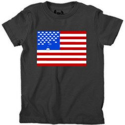 Space Invaders Flag Kid's T-Shirt
