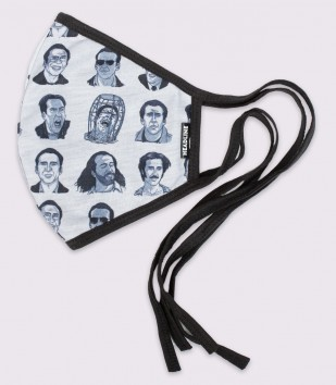 Nicolas Cage Moods Face Mask (With Nose Wire)