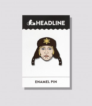 Oh, You Betcha! Enamel Pin