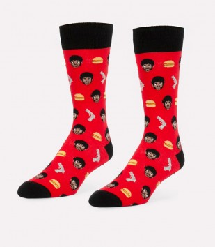 Royale With Cheese Men's Socks