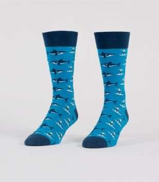 Sharks & Surfers Men's Socks