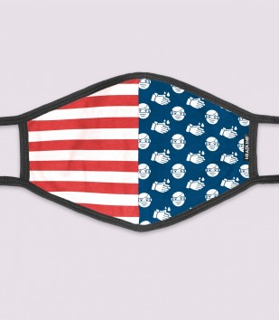Social Distance Stars & Stripes Face Mask