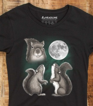 Three Squirrel Moon