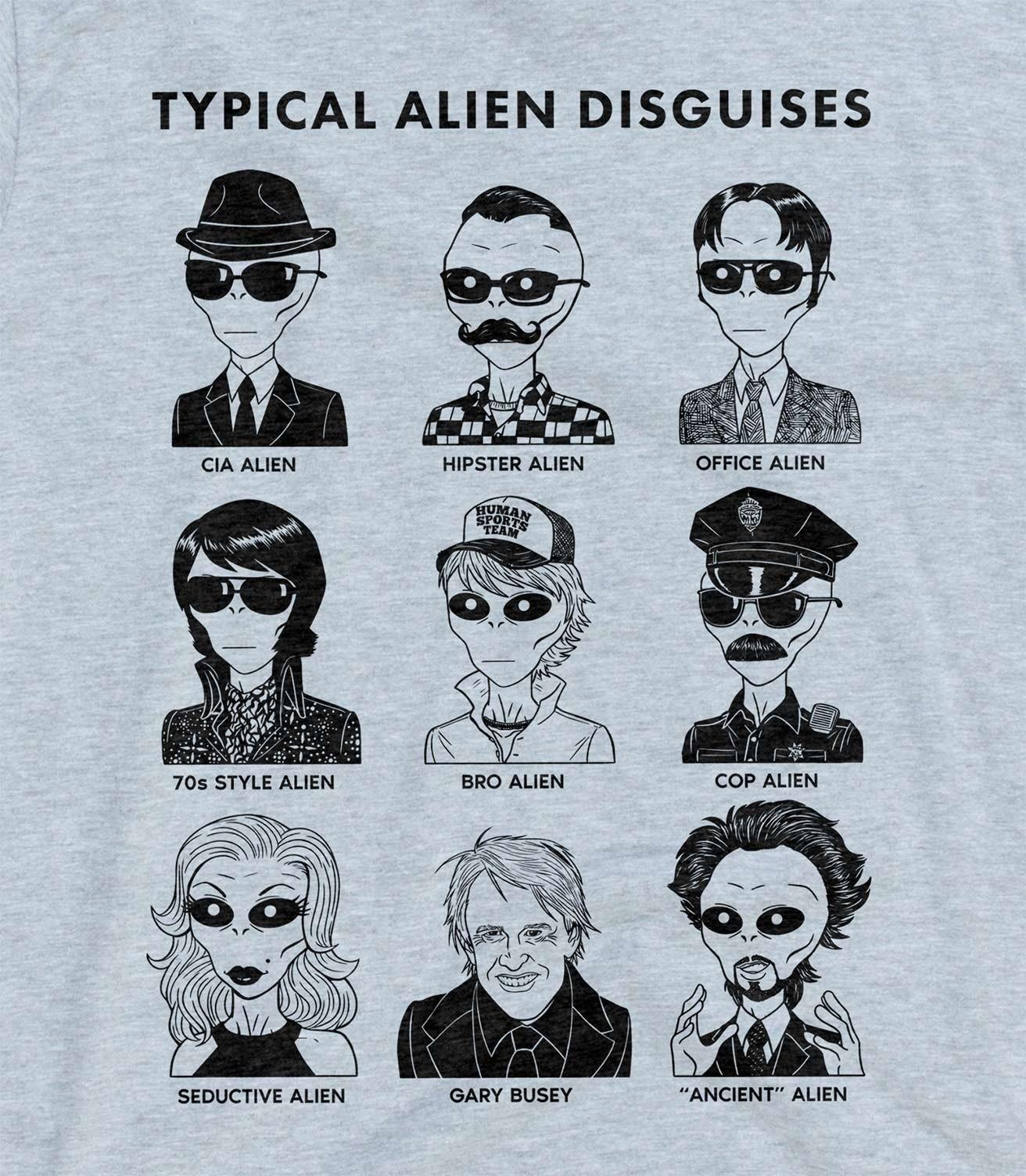 51e58c11d Typical Alien Disguises